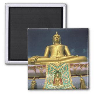 Thailand KohSamui ö. Stora Buddha. Kylskåpsnagnet