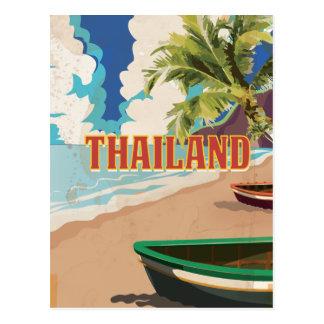 Thailand vintage resoraffisch vykort