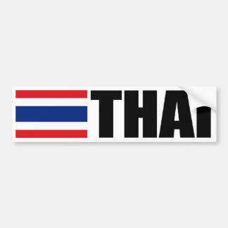 Thailändsk flagga bildekal