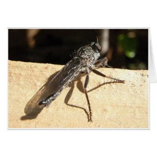 Thailändsk fluga hälsningskort
