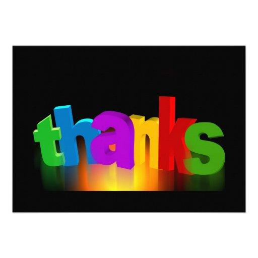 thank-you-140227 tackar dig märker för att tacka unika inbjudningar