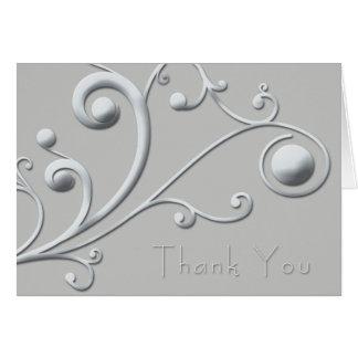 Thank-you-Silver_blue Hälsningskort