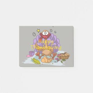 Thanksgiving Post-it Papper
