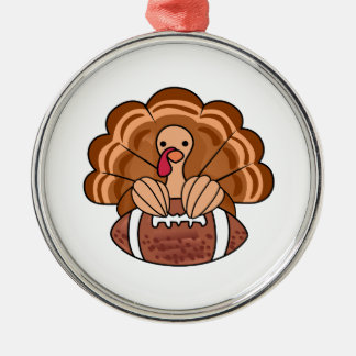 Thanksgiving Turkiet Julgransprydnad Metall