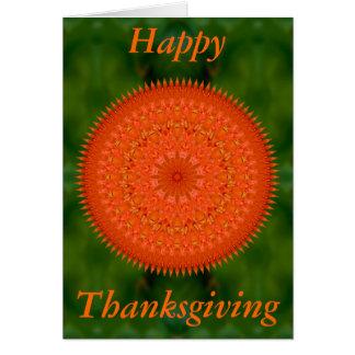 Thanksgivingkort med det Cicero citationstecknet Hälsningskort