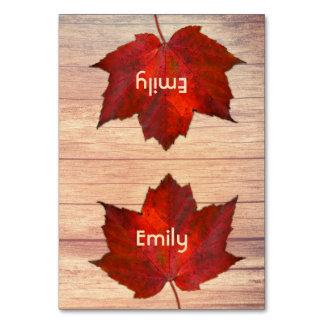 Thanksgivingstället Cards det röda löv