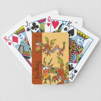 Thar är drakar spelkort
