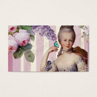 Thé au Petit Trianon - steg Visitkort
