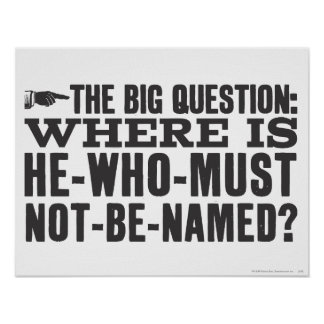 The Big Question Posters