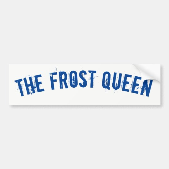 The Frost Queen Bildekal