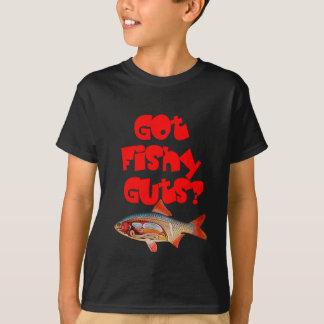 The red Got Fishy Guts T-shirt