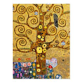 """ The Tree of Life "" , Gustav Klimt Vykort"