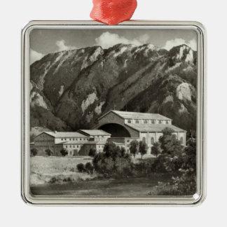 Theatren på Oberammergau, 1930 Julgransprydnad Metall