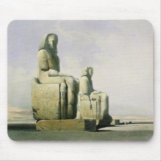 Thebes December 4th 1838, specificerar av colossin Musmatta