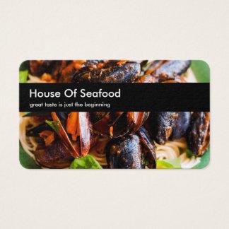 Themed havs- restaurang visitkort