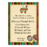 Themed inbjudan för mexicansk Fiesta