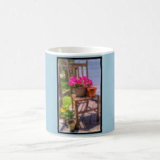 Themed kaffemugg för Springtime Vit Mugg