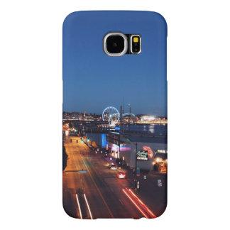 Themed stad, en bild Od ett centra av ett Samsung Galaxy S6 Fodral