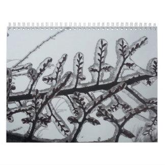 Themed väggkalender 2014 för natur kalender