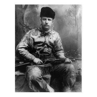 Theodore Roosevelt 1885 Vykort