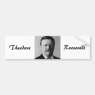 Theodore Roosevelt 26 Bildekal