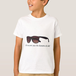 These are not sunglasses tee