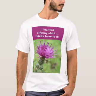 Thistleskjorta T-shirts
