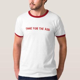 thnx för tillfoga tee shirt