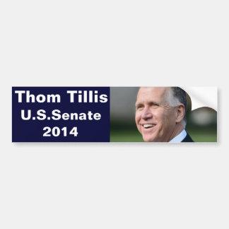 Thom Tillis för U.S.-senat Bildekal