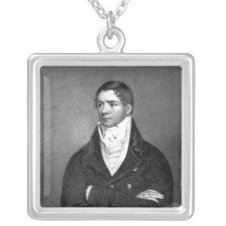 Thomas Belcher som inristas av den Charles turner, Silverpläterat Halsband