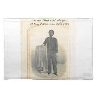 "Thomas ""blinda Tom"" Wiggins, 1859 Bordstablett"