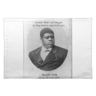 "Thomas ""blinda Tom"" Wiggins Bordstablett"