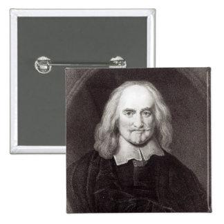 Thomas Hobbes från 'galleri av porträtt Pins