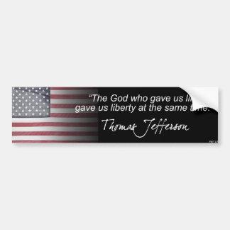 Thomas Jefferson Bildekal