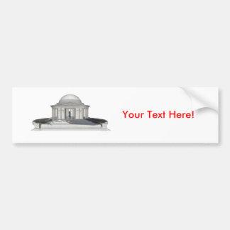 Thomas Jefferson minnesmärke: 3D modellerar: Bildekal