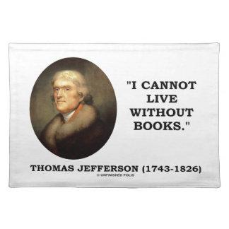 Thomas Jefferson som jag inte kan bo utan Bordstablett