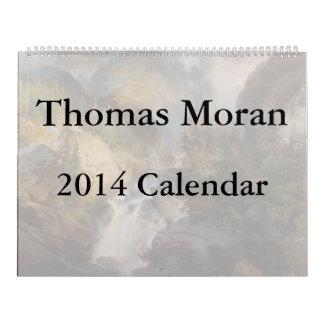 Thomas Moran 2014 kalender