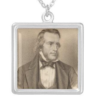Thomas Osbourne Davis Silverpläterat Halsband