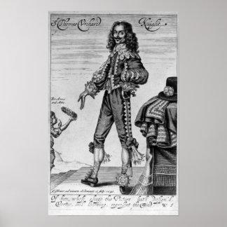 Thomas Urquhart, 1641 Poster