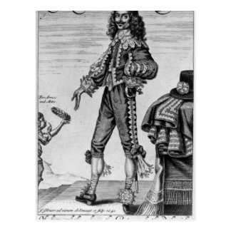 Thomas Urquhart, 1641 Vykort