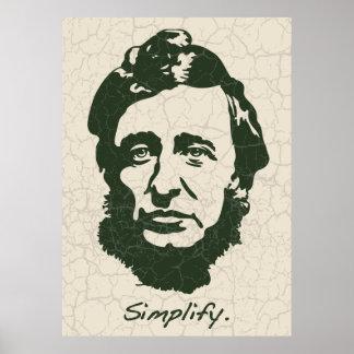 Thoreau - förenkla poster