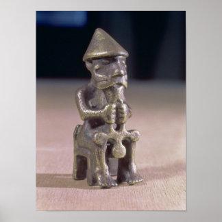 Thoren med en bulta, statuette grundar i island print