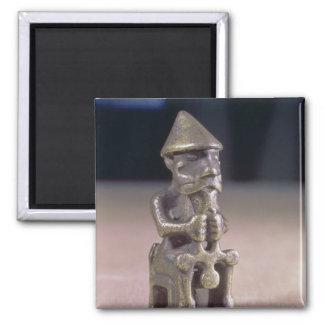 Thoren med en bulta, statuette grundar i island magnet