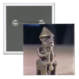 Thoren med en bulta, statuette grundar i island standard kanpp fyrkantig 5.1 cm