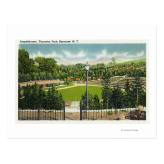 Thornden parkerar amfiteatern beskådar vykort