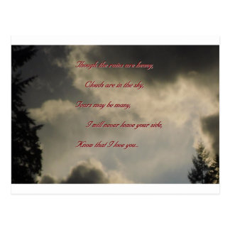 Though regnar är skurkrollen, mig älskar dig vykort