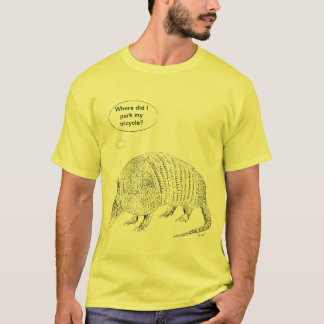 Thoughtfull bältdjur t shirt
