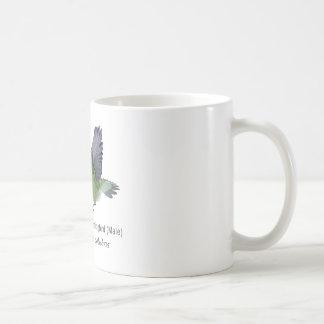 Throated Hummingbirdmanlig för Ruby med namn Kaffemugg