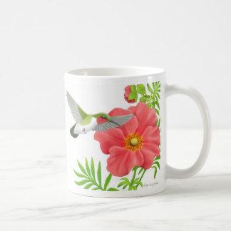 Throated Hummingbirdmugg för Ruby Kaffemugg