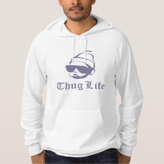 thuglivbebis sweatshirt med luva